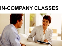 In-company classes, in-house classes, languages for companies, one-to-one classes