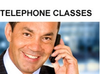 English telephone classes, English by phone, virtual classes